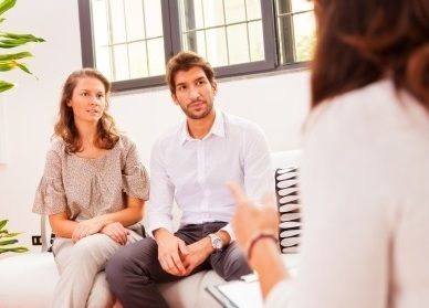 couple in counseling session